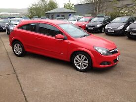 07 plate vauxhall astra 1.4 sxi 3dr 40000miles bright red £2995