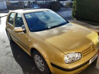 Volkswagen, GOLF, Hatchback, 2000, Manual, 1595 (cc), 5 doors for Sale