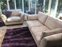Three Piece barker and stone house sofa set