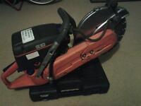 Cutting saw Petrol Husqvarna K760 serviced . £180