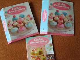 Cake Decorating Magazines and Folders by DeAgostini