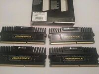 Corsair Vengeance 16gb DDR3 Ram 1600mhz (4 x 4gb) With Heat Spreaders
