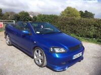 vauxhall astra 2.0 turbo z20let convertible 2004 great reliable car with performance