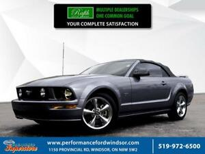 2007 Ford Mustang ***Low Km's GT Convertible with 4.6L V8, Auto,