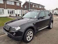 2009 BMW X3 XDRIVE 2.0D SE,AUTOMATIC,12 MONTHS MOT,2 FORMER KEEPERS,07522247473