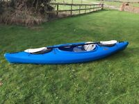 Equinox 10.4 Kayak with Paddle & Spray Skirt - Excellent Condition