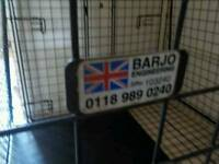 Barjo 4 door dog crate