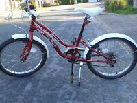 Girls 'vintage style' bicycle