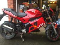 50cc Gilera DNA automatic (twist n go) *private plate* 10 months MOT