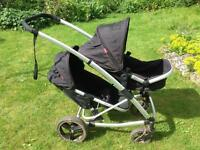 Phil and Teds Promenade twin buggy