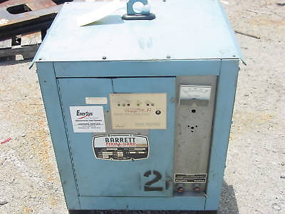 Barret 24 Volt Forklift Battery Charger