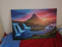 Large Colourful Painting