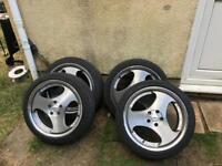 "5x108 18"" alloys and excellent tyres. Ford, Peugeot, Jaguar etc"