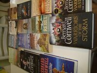 BERNARD CORNWELL COLLECTION OF HISTORICAL FICTION BOOKS RESALE CARBOOTS VG