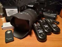 Canon 550D + 28-70mm f2.8 Lens + Accessories
