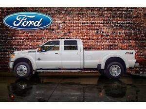 2016 Ford F-450 4x4 Crew Cab Lariat DRW Diesel Leather Roof Nav