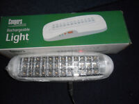 camping light rechargeable cordless led strip light 8 hours of light one charge brand new