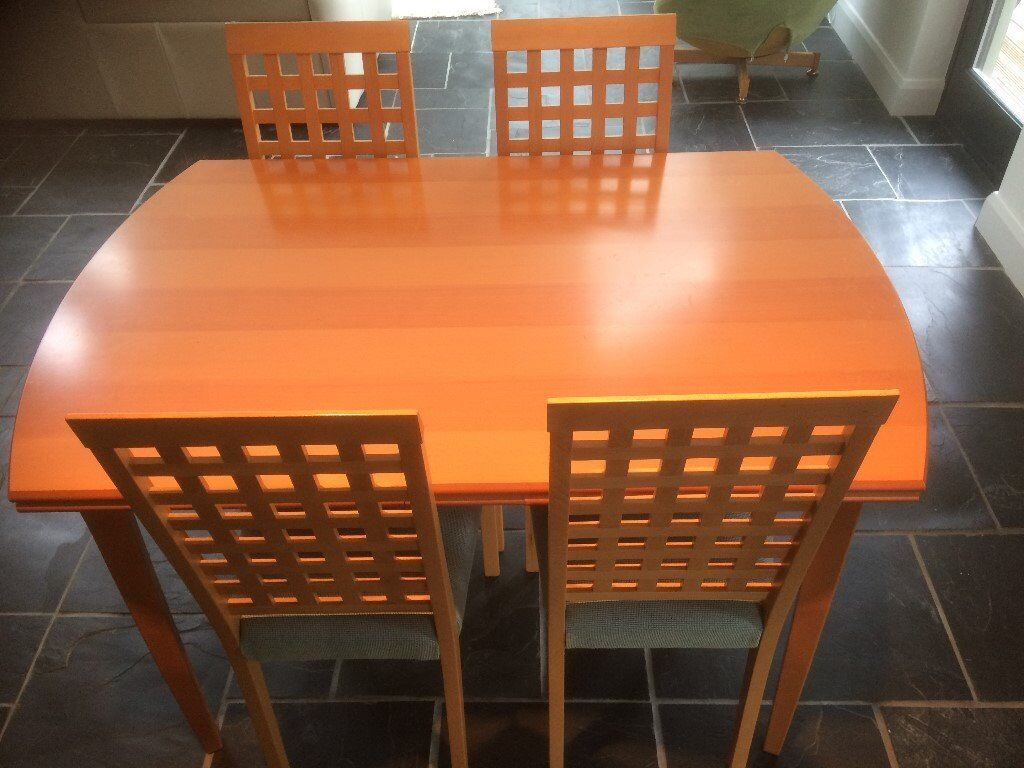 Matching Extending Dining Table Dresser And Display Cabinet For Sale