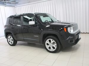 2017 Jeep Renegade HOT!! HOT!! HOT!! LIMITED 4X4 SUV WITH MY SKY