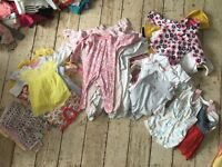 BABY GIRL CLOTHES- up to 3 months.