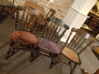 40 quality pub chairs in very good condition with 8 stools included all for £350 ONO