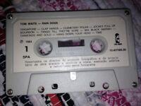 Tom Waits 'Rain Dogs' Spanish Version Cassette (1984/Island Records/No Case/RARE).
