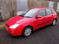 2001 FORD FOCUS 1.8 LX**,SOLD WITH FULL MOT**[MONDEO, GOLF,VECTRA,CLIO,FIESTA],