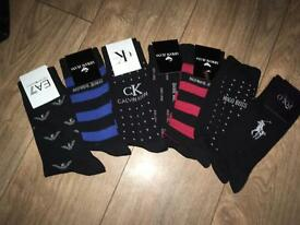 mens designer socks
