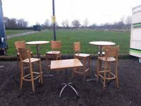 Catering equipment Restaurant cafe bar tables and chairs gas tandoors gas fryers