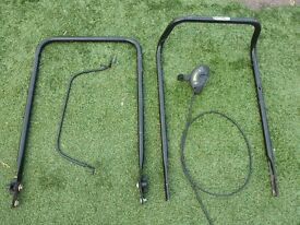 LAWNMOWER HANDLE + SPEED CONTROLLER + CABLE ..ONLY £10