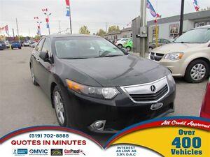 2012 Acura TSX Premium | LEATHER | ROOF | HEATED SEATS | SAT RAD