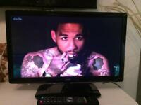 "21"" HD DVD Freeview combi LCD widescreen tv"