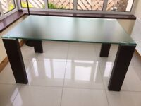 Glass Dining Table - Excellent Condition