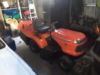 Husqvarna ct135 ride on lawnmower