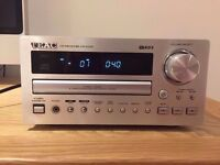 TEAC CR-H230 CD Player Amplifier Receiver Tuner am/ fm In Silver