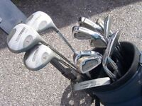 Howson Tour Master Power Series Golf Clubs and Trolley
