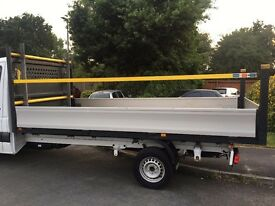 LWB Mercedes Sprinter Aluminium Dropside FlatBed Body
