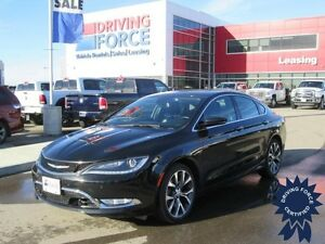 2015 Chrysler 200 C AWD 5 Passenger, 3.6L V6 Gas, 21,361 KMs