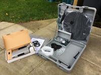 Camping Portable Satellite Dish and Freesat Box