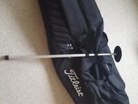 Titleist - wheeled travel bag with stiff arm club protection
