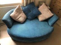 2 seater cuddler sofa