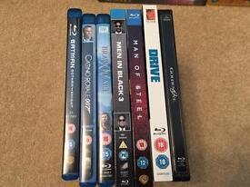 7 Blu Rays Job Lot