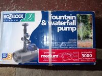 HOZELOCK MAINS FOUNTAIN & FEATURE PUMP 51W RRP£85