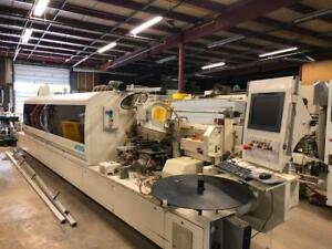 STEFANI SOLUTION (8600) CNC EDGEBANDER