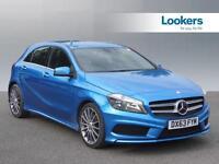Mercedes-Benz A Class A200 CDI BLUEEFFICIENCY AMG SPORT (blue) 2013-11-25
