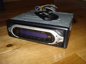 Sony Xplod CDX-MP40 MP3 car stereo spares or repair