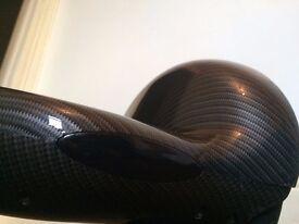 Hoverboard/Swegway 10 inch black Carbon Fibre Design with Ceramic Coating