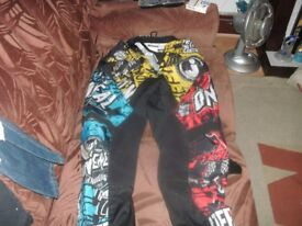 CHILDS MOTOCROSS OUTFIT