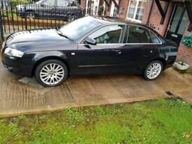 2007 AUDI A4 JUST HAD TURBO RECONDITIONED