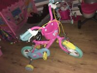 Peppa pig girls bike